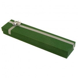 Green/Silver Atlanta Bracelet Presentation Gift Box