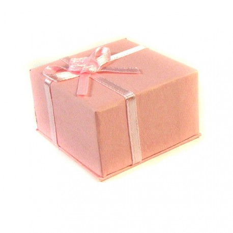 Pastel Pink Mother of Pearl Rectangle Earrings and Mini Mother of Pearl Succulent Gift Box Gift Box Birthday Gift Box