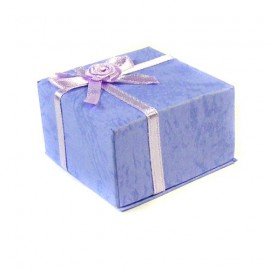 Pastel Lavender Blue Earring Presentation Gift Box