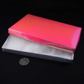 Pink Pearlised Necklace Presentation Gift Box