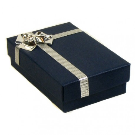 Blue/Silver Atlanta Pendant Presentation Gift Box