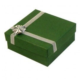 Green/Silver Atlanta Large Pendant Presentation Gift Box
