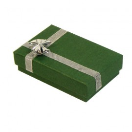 Green/Silver Atlanta Pendant Presentation Gift Box