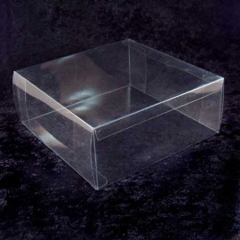 Clear Acetate Tiara Storage Box (Large)