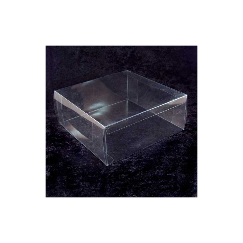 Clear Acetate Tiara Storage Box Large