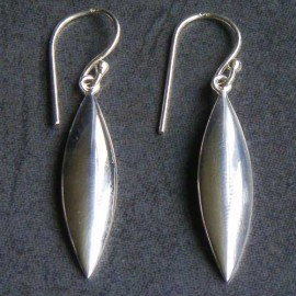 Sterling Silver Drop Leaf Wires