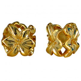 Chrysalis Silver Gold Orchid Spacer