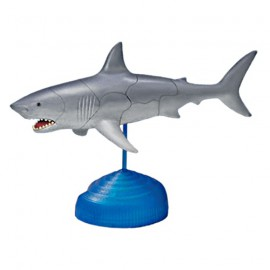 Great White Shark 4D 3D Puzzle Egg Toy Kit