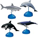 Sea Life 4D 3D Puzzle Egg Toy Kit Collection 9 (Set of 4)