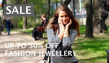 Fashion jewellery sale, up to 50% off